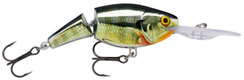 RAPALA JOINTED SHAD RAP JSR09 CBG CHROME BLUEGILL