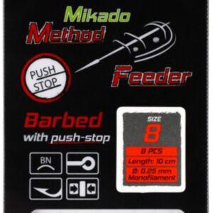 Udice method feeder - vezane sa dlakom